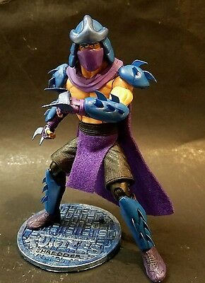 "TMNT CUSTOM SHREDDER CLASSIC FIGURE TEENAGE MUTANT NINJA TURTLES ""RETRO 80s VER."