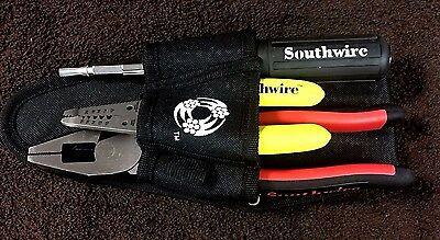 Southwire Electrician Wire Tool Kit Stripper Cutting Linesman Pliers Screwdriver