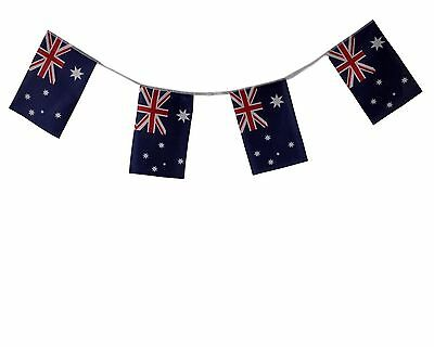 Aussie Australian Flag Bunting Banner String  Australia Day Party Décor  6meters