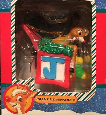 Rudolph the red-nose reindeer 1998 The Movie Collectible Ornament New