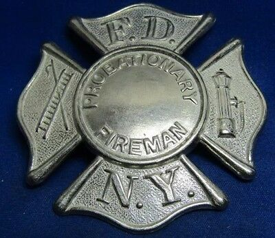 New York FDNY Fire Dept. Badge