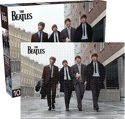 THE BEATLES - WALKING IN THE STREET, COLOR - PUZZLE 1000 Pz cm 50x70