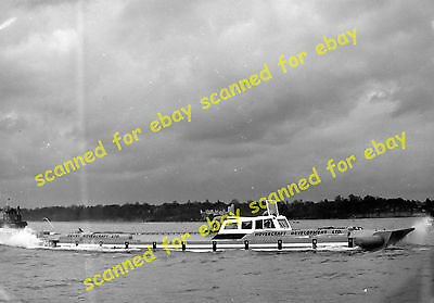 Photo - Denny D1 hovercraft on trials, Solent, 1962 (1)