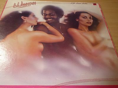 """L.J.Johnson LP- Features """"You Keep My Temperature Rising"""" - Modern Soul - MP3"""