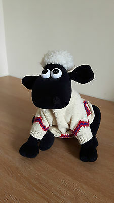 Wallace & Gromit Shaun the Sheep in Jumper Soft Toy