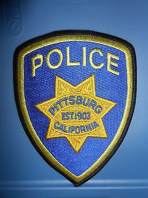 California Police Embroidery Shoulder Patches