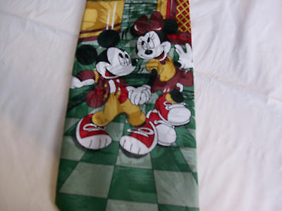 Mickey and Minnie Mouse Men's Tie