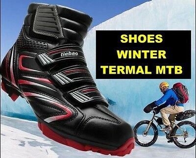 Shoes Winter Mtb Bike Cycling Scarpe Ciclismo Invernale Uomo 44