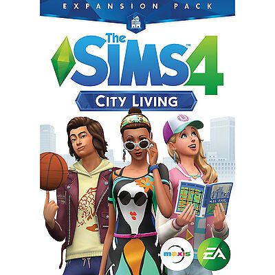 The Sims 4: City Living Expansion (PC/MAC) - English Only (Code Only/No Disc)