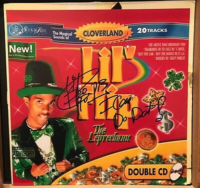 Lil Flip The Leprechaun Album Vinyl Cd Cover Photo Signed Autograph