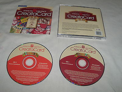 American Greetings CreataCard Gold 8 (PC, 2003) Mint