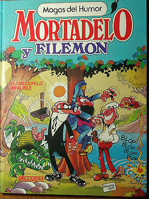 Mortadelo y Filemon  coleccion Magos del Humor nº 12 de 1986 editorial Bruguera