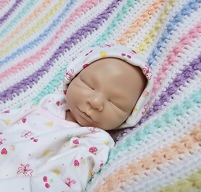 """Solid Silicone Reborn """"Chloe"""" BLANK KIT Completely Hand Made by Chelle's Babies"""