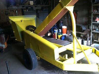 Wood Chipper Frame Without Motor