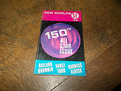 New Worlds Science Fiction SF magazine No. 150 - May 1965 - 150th All Star Issue