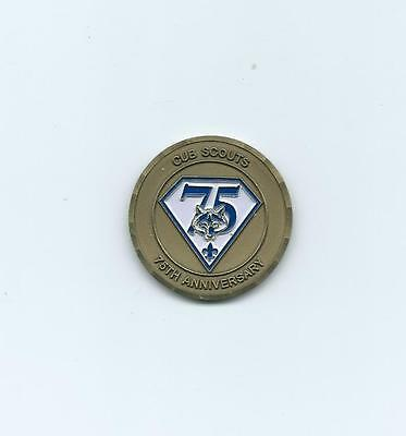 OLD Boy Scouts Cub Scout 75th Anniversary Coin