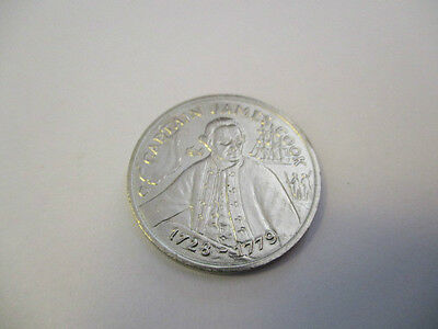 "Australia 200 Years Bicentennial Medal  "" Captain James Cook 1728 - 1729 """