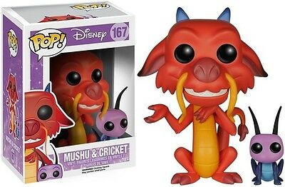 Mulan - Mushu & Cricket - Funko Pop! Disney (2016, Toy NEU)