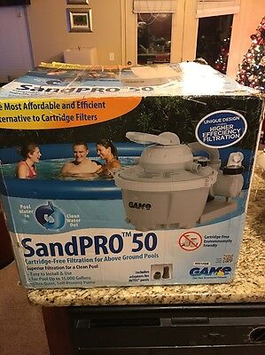 SandPRO 50 Game Above Ground Swimming Pool Filters 4510