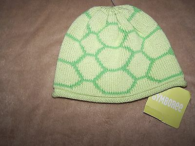 Gymboree NWT Brand New Baby Unisex Turtle Hat 0-3