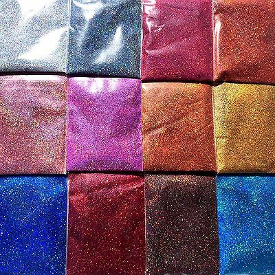 100g Fine Glitter Dust powder Hologram Metallic Holographic Nail Body Art Craft