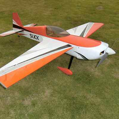 HAIKONG A251 SLICK 1.3M 1300mm/51.2in Electric Wooden RC Airplane orange one #