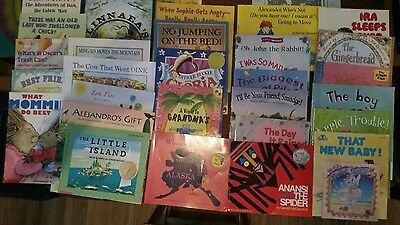 Lot of 32 PB Children's Picture Books CLASSICS CURRENT ANIMALS HUMOR FAMILY