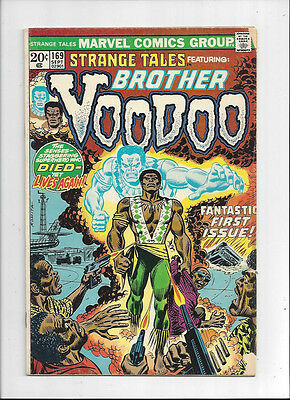 Strange Tales #169/Bronze Age Marvel Comic Book/1st Brother Voodoo/VG+