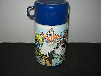 Vintage 1984 VOLTRON  Aladdin PlasticsThermos (Pre-owned-Used)