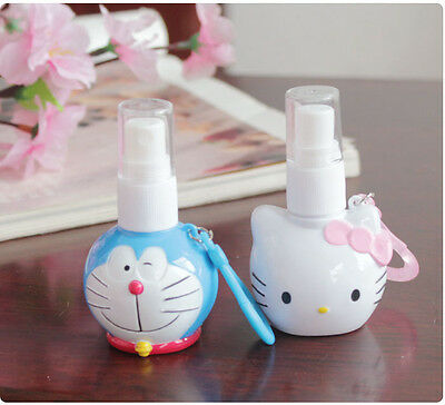 Hello Kitty Doraemon Skin Toner Perfume Sprayer Lotion Refillable Spray Bottle