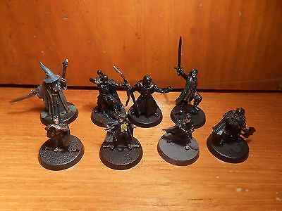Fellowship of the Ring x9 lotr sbg lord of the rings warhammer miniatures hobby