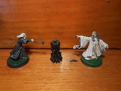 Saruman Gandalf Orthanc lotr sbg games workshop lord of the rings gw hobbit RARE
