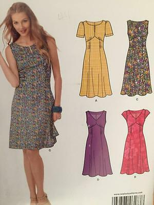 New Look Sewing Pattern 6183 Ladies Misses Dress Size 10-22 Uncut