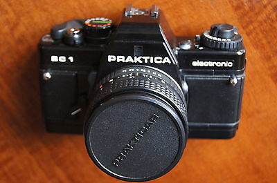 praktica camera bc1 electronic vintage camera in origional case with brochures
