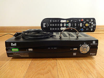 Motorola Bell Fibe TV VIP 1232 HD PVR Cable Receiver 320GB + Remote ACTIVATE NOW