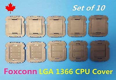 Foxconn Intel LGA1366 1366 CPU Socket Protector Cover Brand New Lot of 10