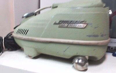 Vintage Compact IEC Electra Canister Vacuum Cleaner(AS-IS Works for parts)