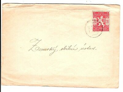 1918 Czechoslovakia SCOUT POST COVER / lion.