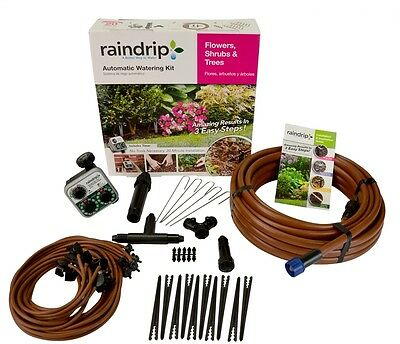 Raindrip Drip Irrigation Tree and Shrub Kit Expansion Rain Bird Drippailq System