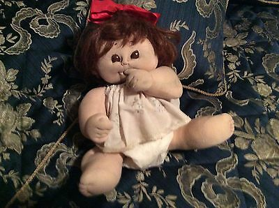 Vintage Thumb Sucking Doll From The 1970s.