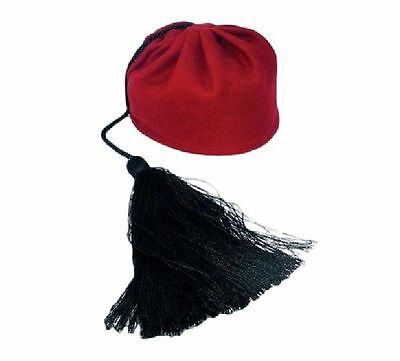 Greek Traditional Costumes Accessory Fez for Tsolias Evzon MARK638 Greece Hat