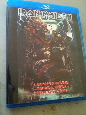Iron Maiden Concert Blu Ray Beijing China The Book Of Souls Tour 2016