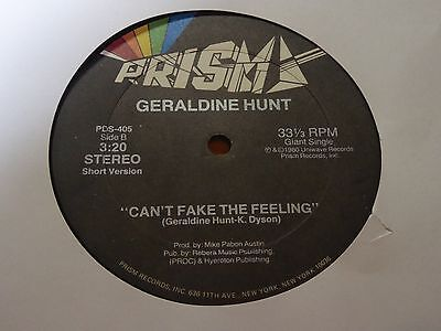 Geraldine Hunt - Can't Fake The Fake The Feeling - Jazz Funk Soul - MP3
