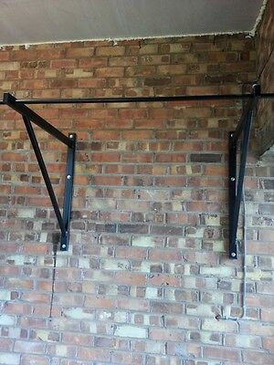 Crossfit wall mounted pull up bar