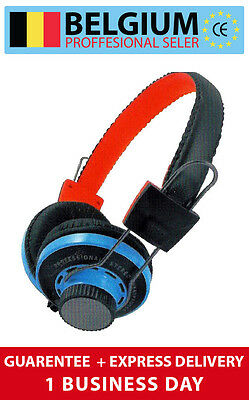 Casque Audio Flat Cable Headphones Stereo