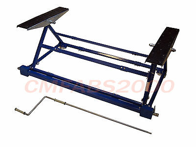 3 Width Adjustable Mini Tilting Car Lift - Chassis Tilter - Ramp Roller - New