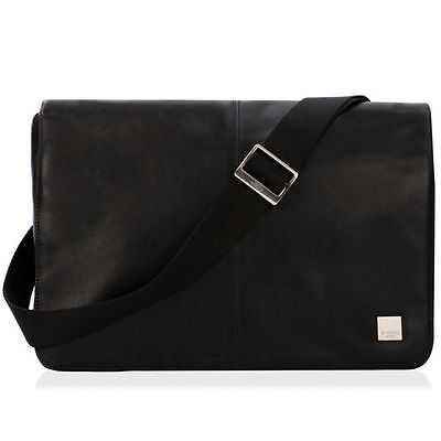 "54-303-BLK Knomo Kinsale Cross Body Messenger 13"" Black 54-303-BLK  (Laptop bag)"