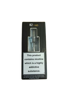 100% Authentic ASPIRE K2 E CIG VAPE CLEAROMIZER