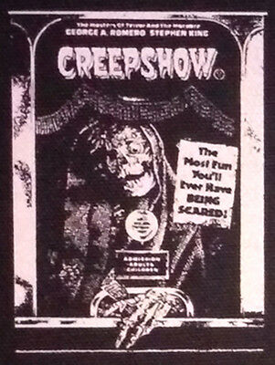 Creepshow - PATCH canvas HORROR - George Romero Stephen King Gore comedy
