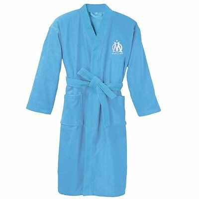 Bathrobe Olympique de Marseille Adult Du S to XL